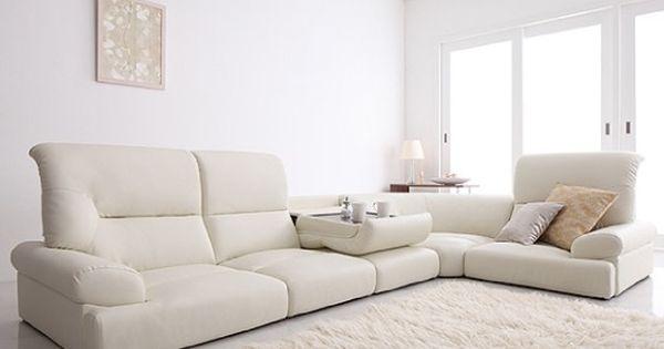 シンプルモダン 白いソファ 白いソファ インテリア 家具 ソファ