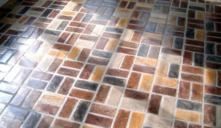Lay A Natural Brick Floor Sealing The Bricks Is Essential As You Want To Be Able To Keep The Floor Clean At All Times Brick Flooring Flooring Chicago Brick