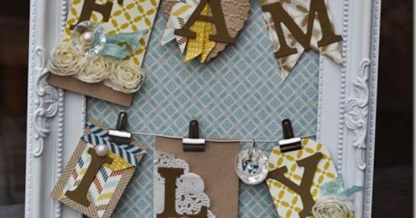 Stampin Up Home Decor Frame Frame It Pinterest