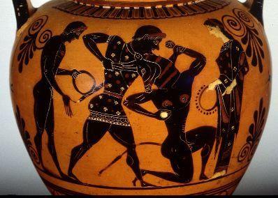 Hercules Seventh Labor The Cretan Bull Greek Art Ancient Greek Pottery Greece Art