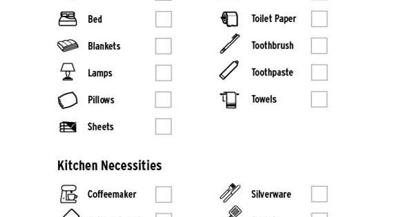 basic bedroom necessities. and for having all the necessities when you move in:   apartments, apartment ideas future basic bedroom s