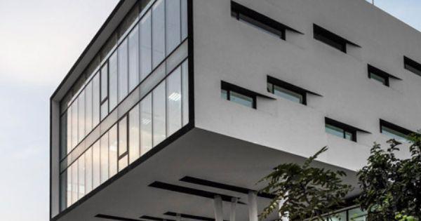 Nestl waters 39 beirut office features a top heavy shape - Lakonis architekten ...