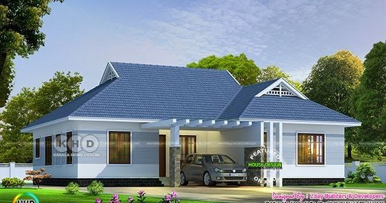 4 Bedroom Single Storied Colonial Home Design In 2020 House Outside Design Colonial House Exteriors Kerala House Design