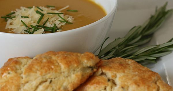 creamy carrot jalapeno soup (and scones!) | tasty | Pinterest ...