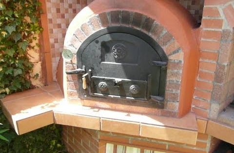 Construcci n horno de le a 4 la b veda hornos de le a - Parrillas y hornos a lena ...
