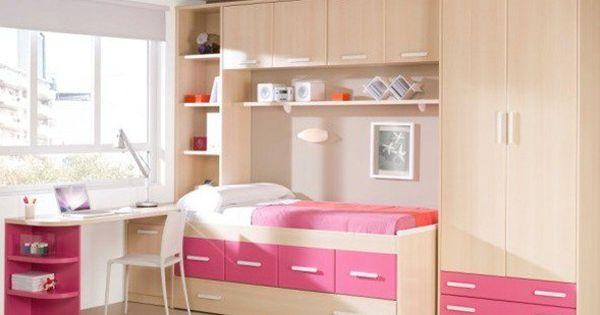 Si est s pensando en c mo decorar un dormitorio juvenil - Como amueblar un dormitorio juvenil pequeno ...