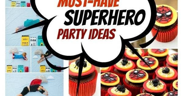 10 Superhero Party Must-Haves And a how to make super hero handcuffs