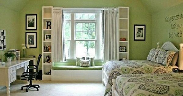 fetching image of bedroom decoration using sage green | Sage Green Bedroom Ideas | there's no place like home ...