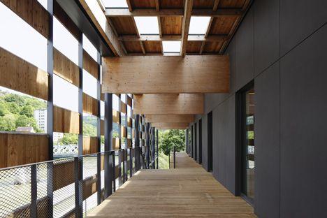 besan on art centre and cit de la musique by kengo kuma musique centre and architecture. Black Bedroom Furniture Sets. Home Design Ideas