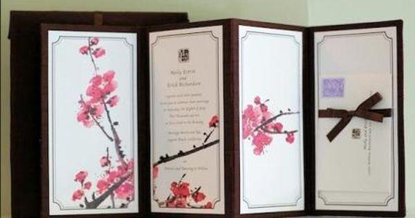 Asian Themed Wedding Inspiration Oriental Wedding Cherry