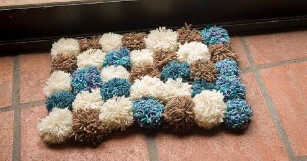 C mo hacer una alfombra de lana youtube tapetes - Como hacer una alfombra de lana ...