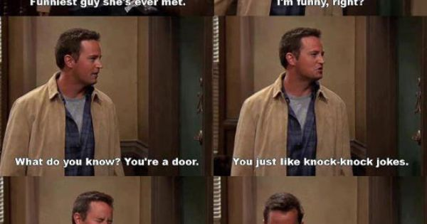 chandler bing from friends quotes