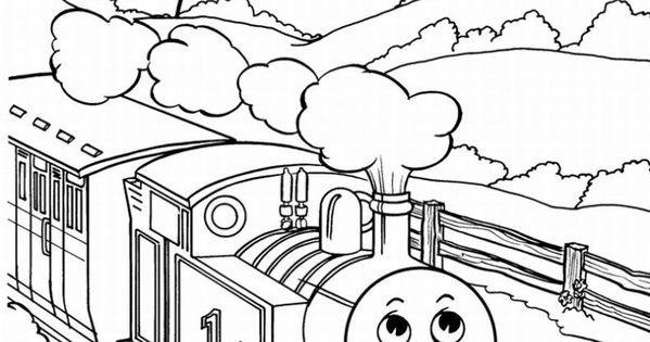 thomas the train color page Google