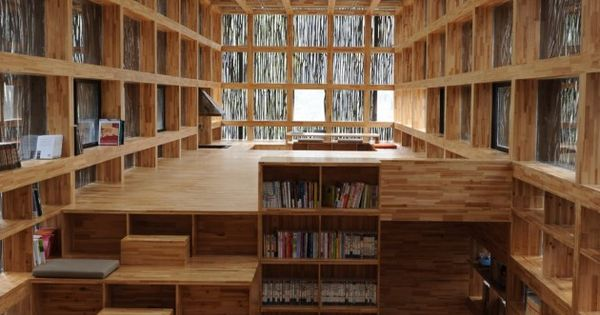 The Liyuan Library, 2hrs outside of Beijing. With a concept for a
