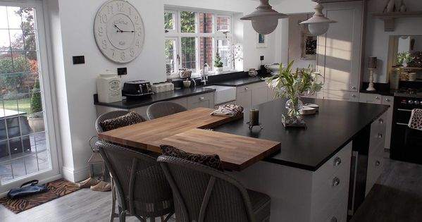 Kitchen Of The Day Traditional Shaker Kitchen With Minimalist Twist
