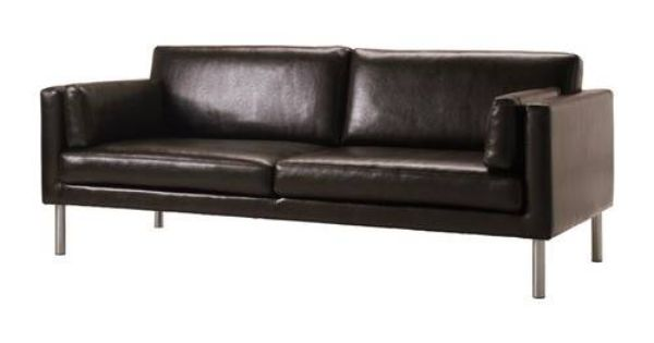IKEA 39 S BROWN LEATHER SOFA FOR 399 Middle Class Modern