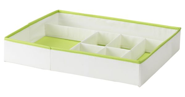 Kusiner Box With Compartments Ikea Organize