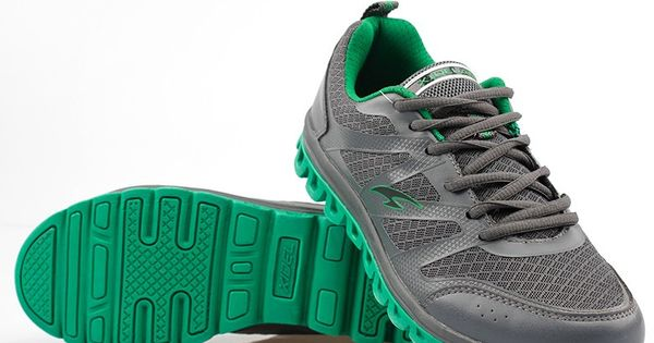 Mens #green casual leather #sneakers sport shoes, lace up closure, leather upper and mesh lining.