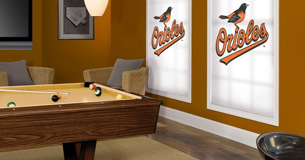 Baltimore Orioles Window Blinds And Roller Shades For Your