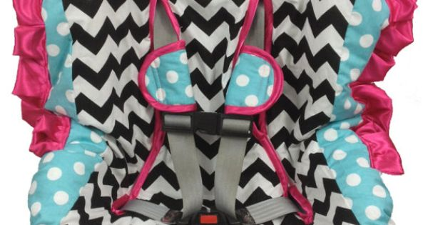 Girly Car Seat Covers: Toddler Car Seat Cover, Girly Girl Padded Easy On & Easy