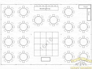 40x60 Pole Tent Layouts Pictures Diagrams Rentals Seating Chart Wedding Template Reception Seating Chart Seating Chart Wedding