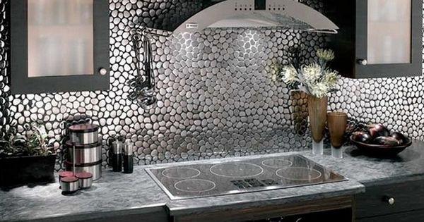 steel kitchen wall tiles ideas looks like kitchen wall bling