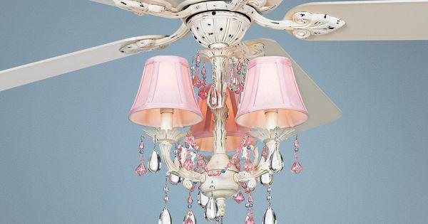 Casa Deville™ Pretty In Pink Pull Chain Ceiling Fan