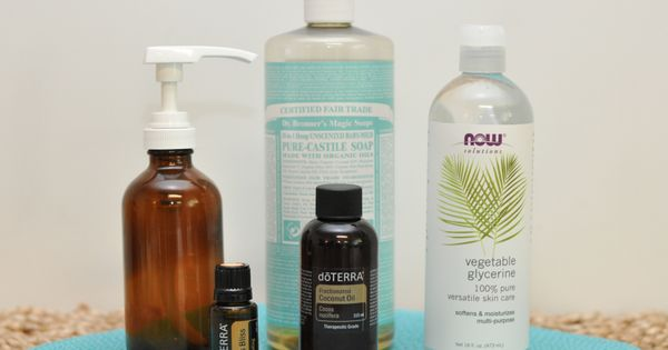 DIY Body Wash - Create your own special blend What you need: