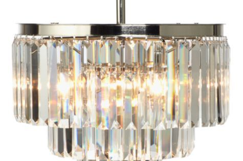 Dining Room Luxe Crystal Chandelier From Z Gallerie How