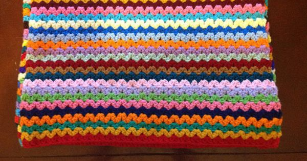 stitch Cluster Afghan - Pattern on crochet-mania.blogspot.com/2009 ...