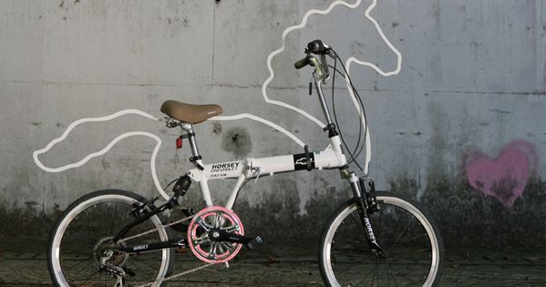 Now everyone can have a pony! Horsey bike designed by Eungi Kim