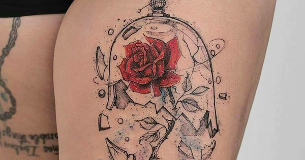 feed your ink addiction with 50 of the most beautiful rose tattoo designs for men and women. Black Bedroom Furniture Sets. Home Design Ideas