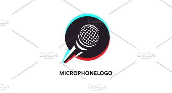 logo design for music or broadcasting related business. by verkelis on @creativemarket