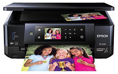Epson Xp 640 Expression Premium Wireless Color Photo Printer With