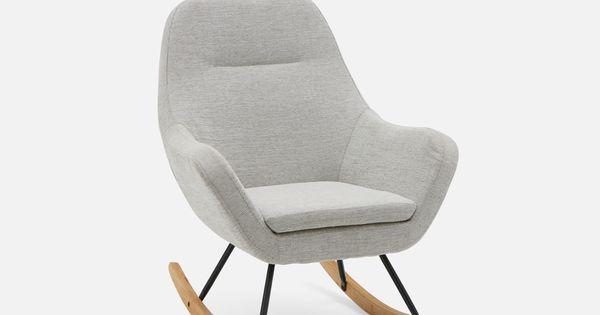 Lila Rocking Armchair Light Grey Rocking Armchair Rocking Chair Rocking Chair Nursery