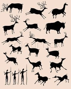 Cave Paintings On Pinterest Cave Painting Prehistoric And Caves Prehistoric Cave Paintings Stone Age Art Cave Paintings