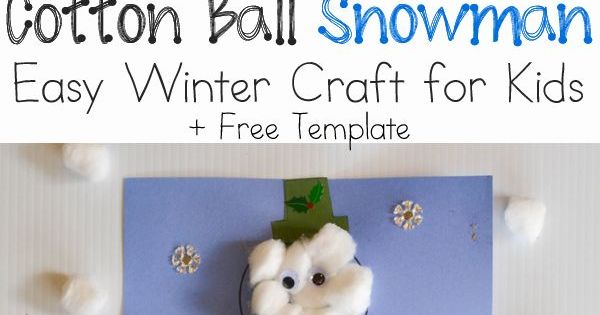Winter crafts for kids winter craft and snowman on pinterest