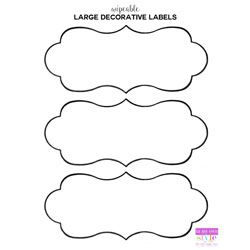 Free Printable Organizing Labels For All Your Stuff In My Own Style Labels Printables Free Templates Labels Printables Free Diy Labels Printable