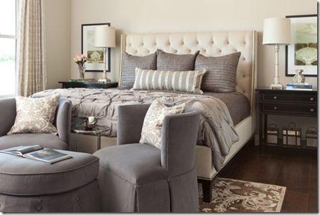 Heather Scott Home Design Cream Bedroom Furniture Grey Bedroom With Pop Of Color Gray Bedroom