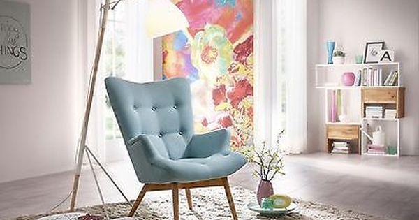 max winzer sessel ansgar polstersessel relaxsessel ohrensessel retro wings in m bel. Black Bedroom Furniture Sets. Home Design Ideas