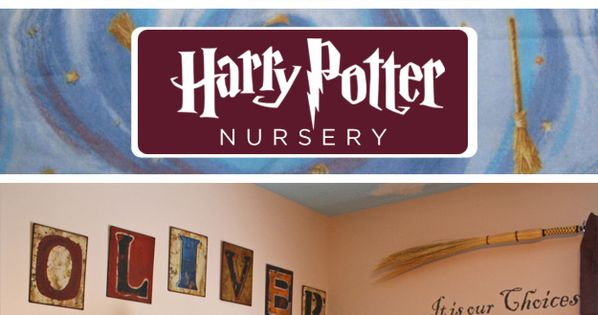Harry Potter Nursery.. future baby room :)