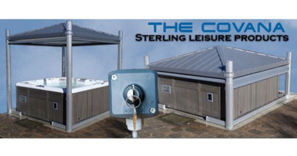 Automated Hot Tub Cover Roof Cool Idea Home Ideas