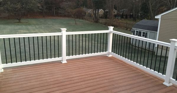 Our New Trex Transcend Deck Deck Color Tiki Torch