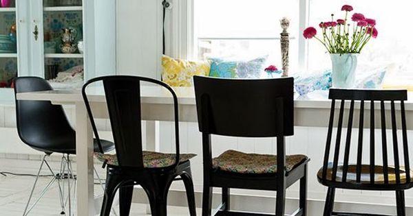 Chaises d pareill es chaise eames et tolix mobilier for Chaise facon eames