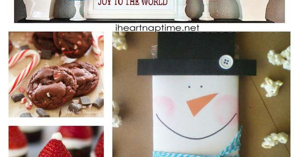 101+ Amazing Christmas Ideas Tons of Handmade Christmas Ideas - {Decor, Gifts
