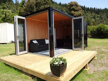 Shipping Container Building A Container Home Shipping Container Small Pool Houses