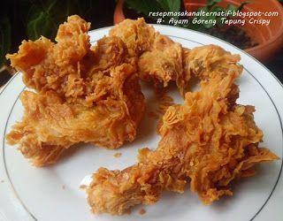 Ayam Goreng Tepung Resep Ayam Resep Masakan Indonesia Ayam Goreng