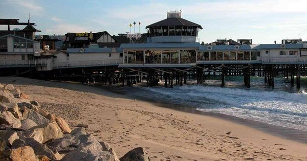 Redondo beach pier when tony 39 s fish market still existed for Tonys fish market