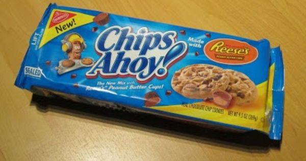 review chips ahoy with reese s peanut butter cups brand eating peanut butter cups reeses reeses peanut butter cups pinterest