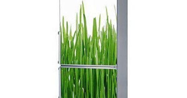 Magnet Refrigerateur Green Grass 60x180 Decoration Refrigerateur Magnette Frigo Couleur